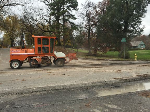 Streets Crew Milling and Overlaying
